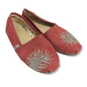 Toms Charlize Theron Limited Edition Red Shoes—6